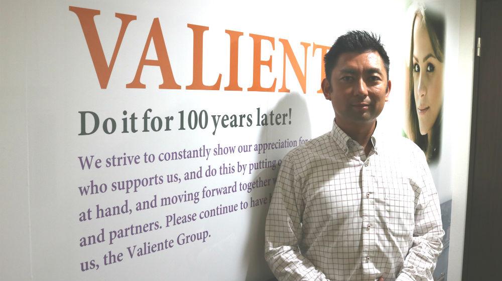 株式会社ヴァリエンテバルコ 代表取締役 今西 高生
