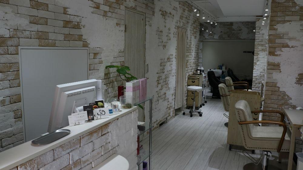 hair salon SandD skill and design