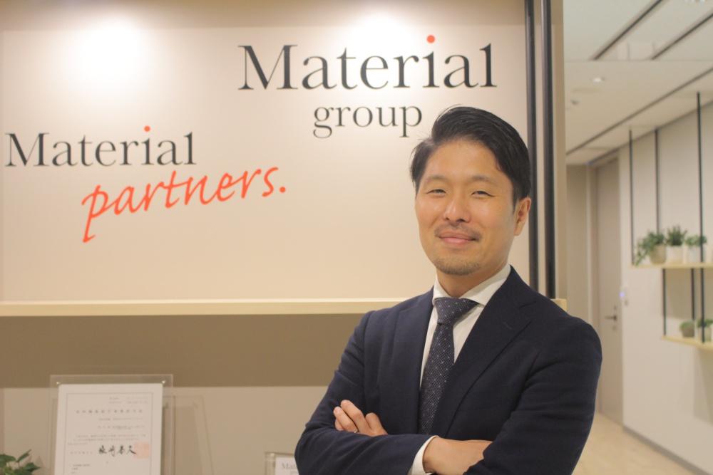 株式会社マテリアルパートナーズ 代表取締役 秋山和也