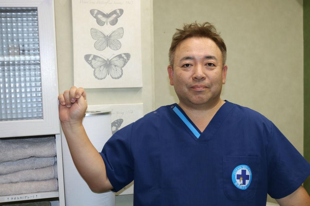 株式会社 オーシャンウェルフェア 代表取締役 池内 洋一郎