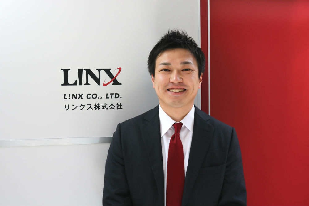 リンクス株式会社 代表取締役 臼倉 孝純