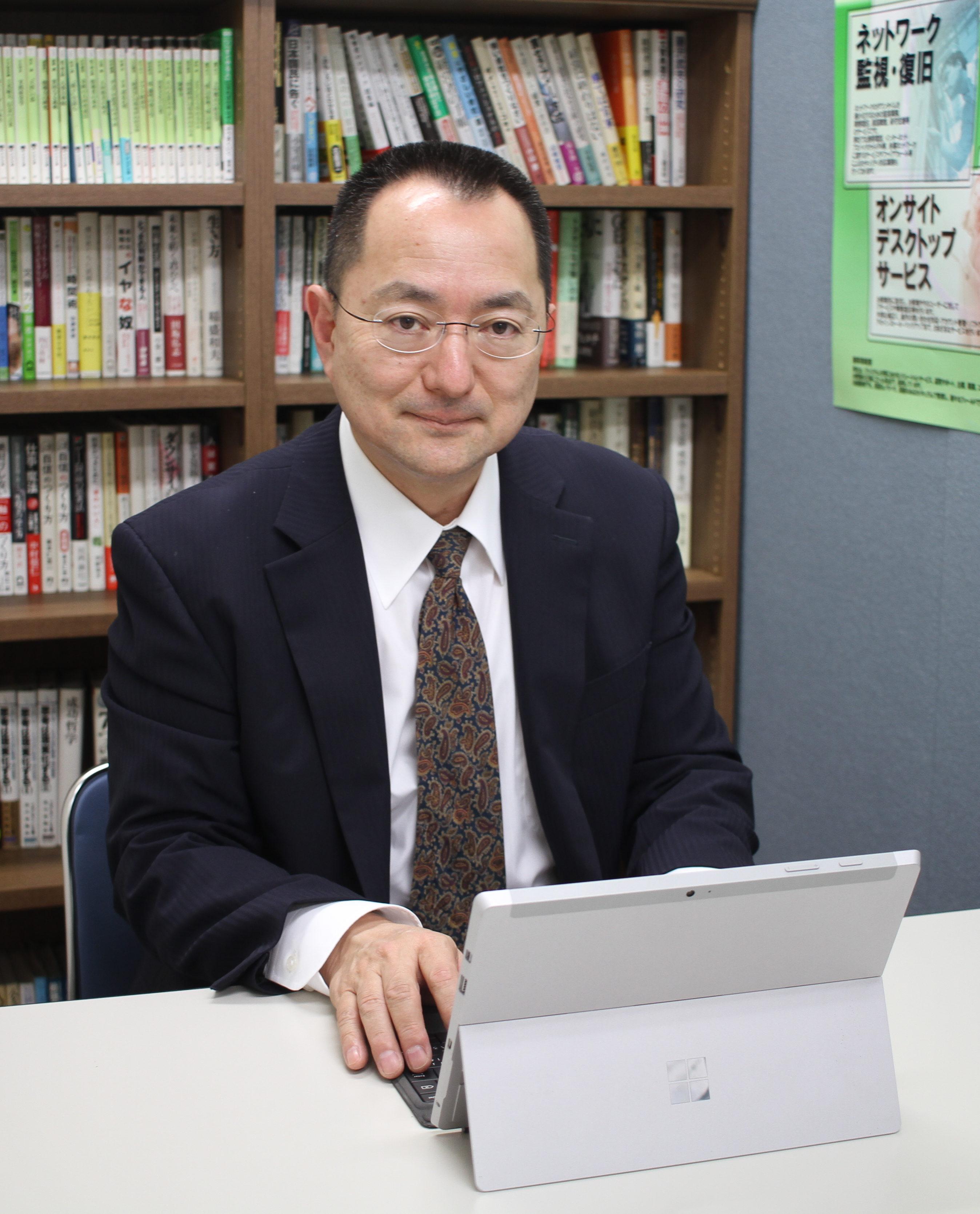 ビズテクニカルサポート株式会社 代表取締役 徳永哲也